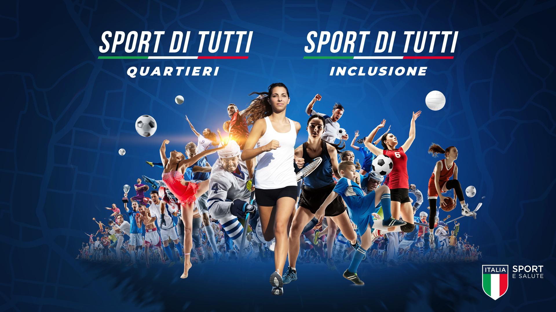 """Bando a sportello """"Sport di tutti – Quartieri"""""""
